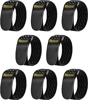 Trilancer Band 30 x 5 cm, elastiska remmar med kardborrband, kardborreband och packremmar för att organisera dina förlängn...