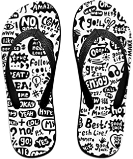 d2630ed7e ROOMY The Winner is Flip Flops Funny Sandy Flat Thong Sandals Slipper Mat  for Men Women