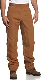 Carhartt Men's Firm Duck Double-Front Work Dungaree Pant B01