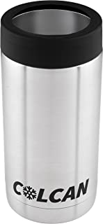 Colcan Stainless Steel Insulated Can Cooler 16oz - Tallboy Pounder Cans