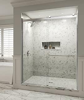 Basco RTLH05B5670CLSV Sliding Shower Door 52-56 in, Chrome