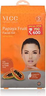 vlcc papaya fruit facial kit video