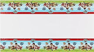 غطاء طاولة بلاستيكي من شركة باو باترول لمستلزمات الحفلات من اميريكان جريتنجز، 54 انش × 96 انش
