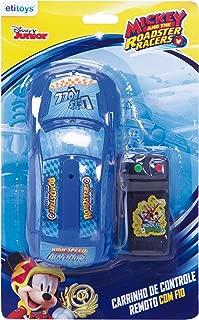 Carro Controle com Fio Mickey etitoys Azul