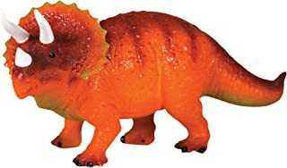 Discover with Dr. Cool Glowing Dinosaur Children's Night Light and Bedroom Decoration - Realistic Triceratops