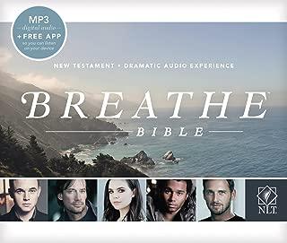Breathe Bible New Testament NLT MP3, MP3 (Audio CD)