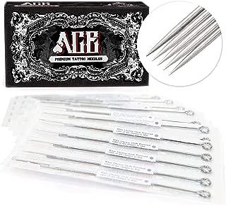 ACE Needles 50 pcs. 5 Flat Shader Pre-Made Sterile Tattoo Needles - 5F
