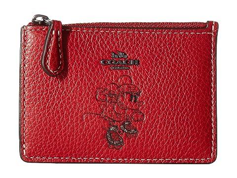 7118372453e6 COACH Boxed Minnie Mouse Mini Skinny ID Case ©Disney x COACH at ...