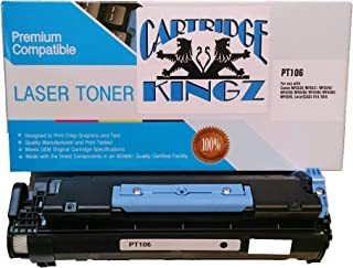 Cartridge Kingz 106 Compatible Toner Cartridge for use in Canon Printers ImageCLASS MF6530, MF6550, MF6560, MF6580, MF6560CX, MF6580CX. Yields up to 5,000 Pages