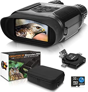 CREATIVE XP Digital Night Vision Binoculars PRO for Complete Darkness - Infrared Night Vision Goggles for Adults - for Hun...