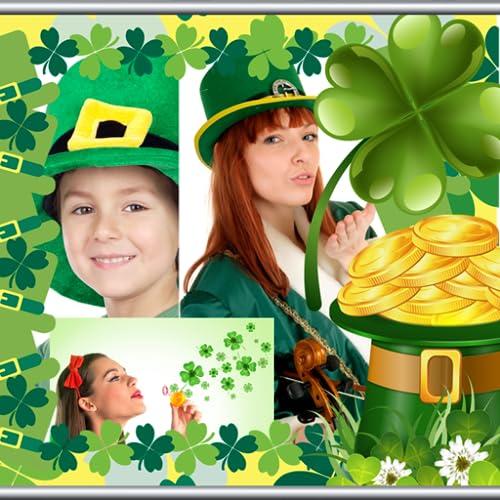 St. Patricks Day Collage