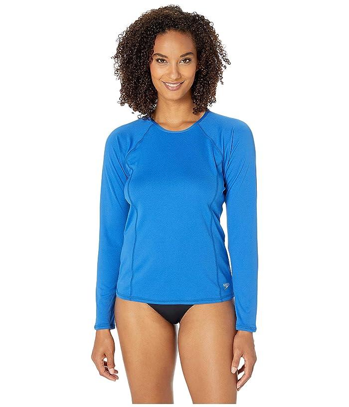 Speedo Swim Tee (Blue Lolite) Women