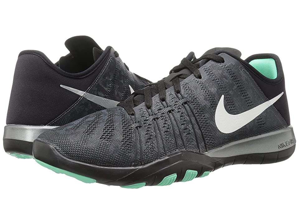 Nike Free TR 6 Metallic (Dark Grey/Metallic Silver/Black/Green Glow) Women