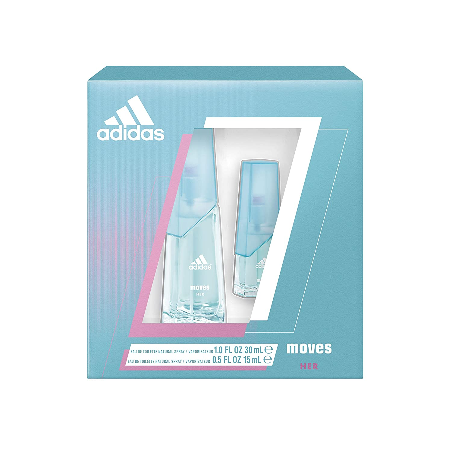 Adidas Moves for Nashville-Davidson Mall Her 2 Piece Total Value Set Ranking TOP7 Gift Retail EDT