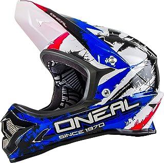 comprar comparacion casco abierto BTT ONeal 2015 Backflip Fidlock DH RL2 Shocker Negro-rojo-azul