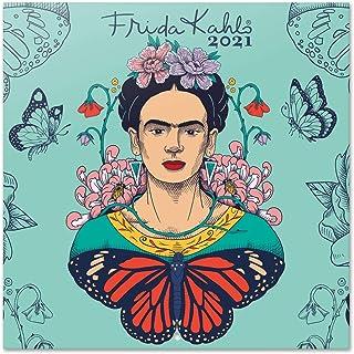 ERIK - Calendario de pared 2021 Frida Kahlo, Producto Oficial, 30x30 cm