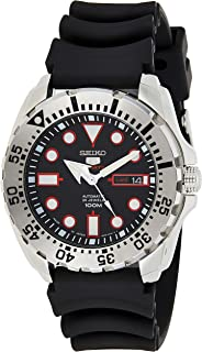 Seiko 5 Sports Auto Divers Style Monster SRP601J1 Black