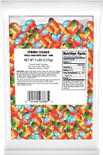 Trolli Sour Brite Eggs Gummy Candy, 5 Pound Bulk Bag