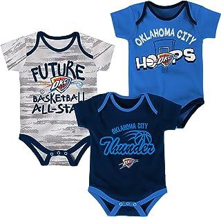 Outerstuff NBA Newborn NBA Newborn & Infant 3 Piece Onesie Set
