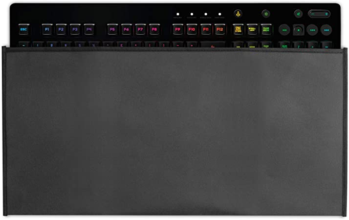 kwmobile Funda Protectora para Teclado Logitech G213 Prodigy Gaming - Cubierta para el Polvo o derrames en Gris Oscuro