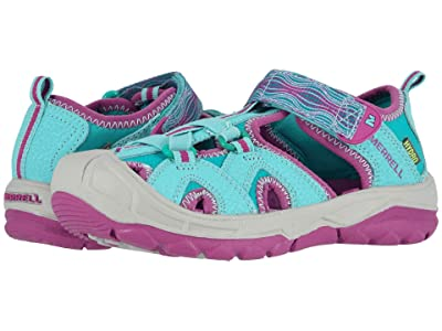 Merrell Kids Hydro (Toddler/Little Kid/Big Kid) (Turquoise/Purple) Girls Shoes
