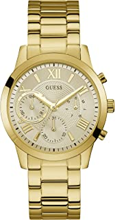 Guess Womens Quartz Watch, Analog Display and Stainless Steel Strap W1070L2