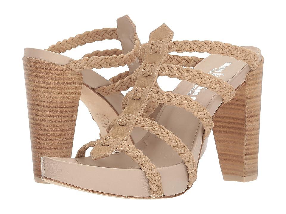 Right Bank Shoe Cotm Cassie Heel (Sand) Women