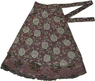 Jaipur Wraparound Two Layer Wrap Around Skirts