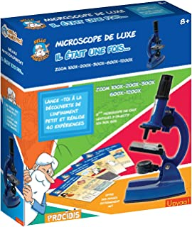 Upyaa Coffret Microscope Zoom 100 à 1200-66 Accessoires + 50 Expériences Hello Maestro, 430350