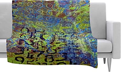 80 X 60 Kess InHouse Sylvia Coomes Shimmering Light Nature Photography Fleece Throw Blanket 80 by 60-Inch