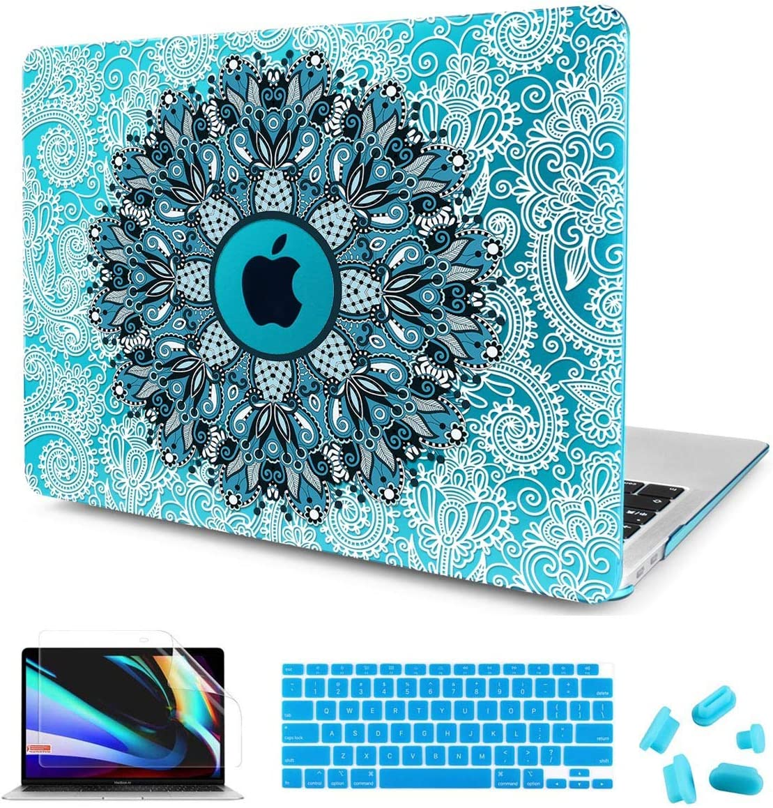 CISSOOK Sky Blue Case with Max 47% OFF Mandala Factory outlet 13 Painting for I Air MacBook