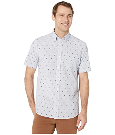 Southern Tide Sink or Swim Short Sleeve Sport Shirt (Seven Seas Blue) Men