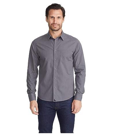 UNTUCKit Wrinkle-Free Marcasin Shirt (Grey/Black) Men