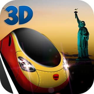 USA Railway 3D: New York Train Driver
