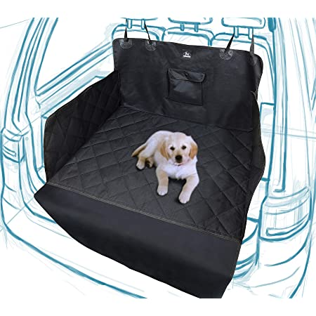 Dog Academy Premium Kofferraumschutz Für Hunde Komfortable Wattierte Wasserfeste Schmutzabweisende Autoschondecke Version 2019 Universell Schwarz Haustier