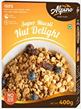 Alpino Super Muesli Nut Delight 400 G (Whole Grain Breakfast Cereal)