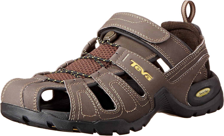 | Teva Men's FOREBAY Sandal, Turkish Coffee, 9 Medium US | Sport Sandals & Slides