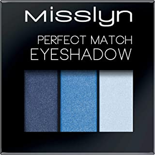 Misslyn Perfect Match Eyeshadow No.79 Navy Blue and Sky Blue