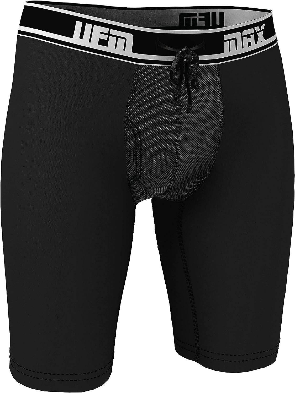 """UFM 9"""" Bamboo Boxer Briefs Adj Support Pouch Underwear MAX Support Gen 3.1"""