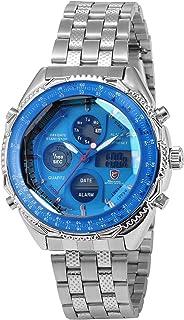 Eightgill Shark Sport Men's Digital LCD Date Day Display Alarm Chronograph Quartz Wrist Watch SH109