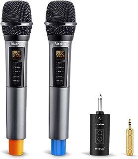 Wireless Microphone with Echo, Treble, Bass & Bluetooth,...
