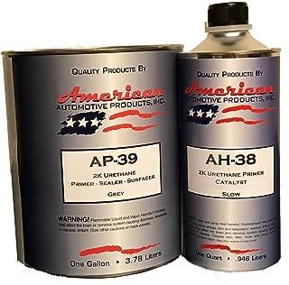 AP-39 Automotive Paint Primer Grey 2K Urethane Gallon Kit High Temperature Activator