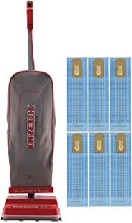 Oreck Commercial U2000RB-1 Commercial 8 Pound Upright Vacuum with EnduroLife with 6 Oreck Bags