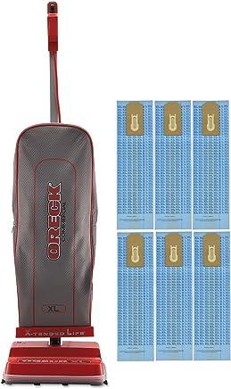 Oreck Commercial 真空吸尘器,带蓝色袋 U2000rb-1 + 6 Bags 43237-2