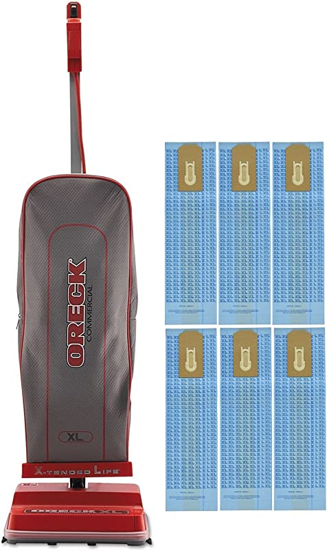 Oreck Commercial U2000RB 1 Commercial 8 Pound Upright Vacuum With EnduroLife With 6 Oreck Bags