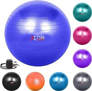comprar comparacion XN8 Pelota de Pilates Embarazo -Pelota de Ejercicio Anti Burst para Gimnasia, Yoga,Equilibrio, Fitness, Entrenamiento- Siz...