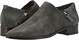 Dark Gray Oiled Suede