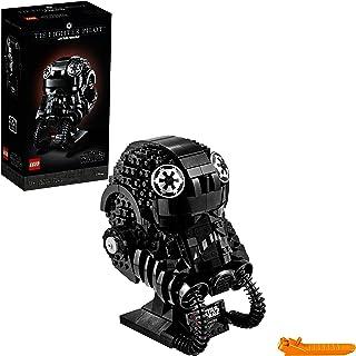 LEGO Star Wars TIE Fighter Pilot Helmet 75274 Building Kit, Cool, Collectible Star Wars Character Building Set