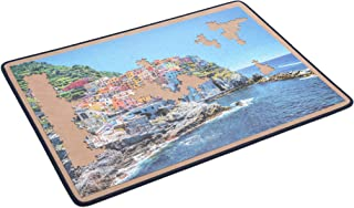 Becko Jigsaw Puzzle Board Portable Puzzle Mat for Puzzle Storage Puzzle Saver, Non-Slip Surface, Sturdy and Movable, Up to...