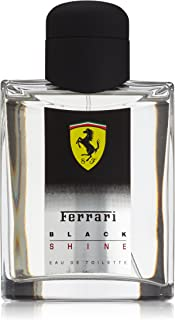 Ferrari Black Shine Men Eau De Toilette Spray by Ferrari, 4.2 Ounce
